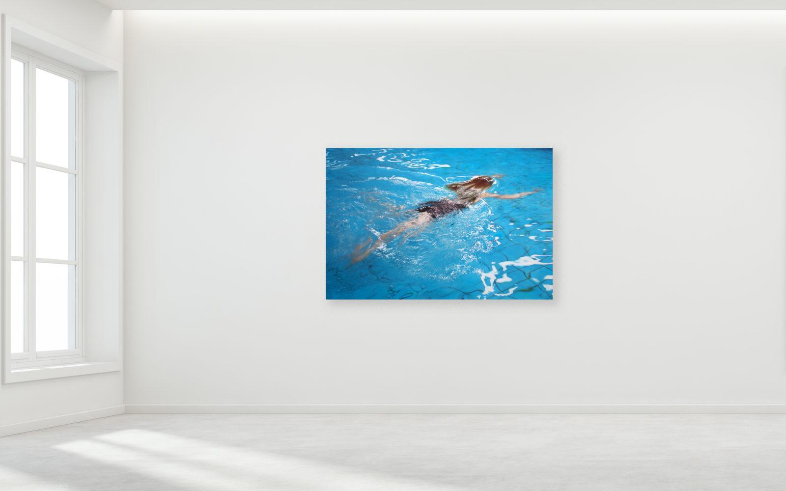 Sigrid von Lintig - Anna - pigment & acrylbinder op doek - 120 x 80 cm