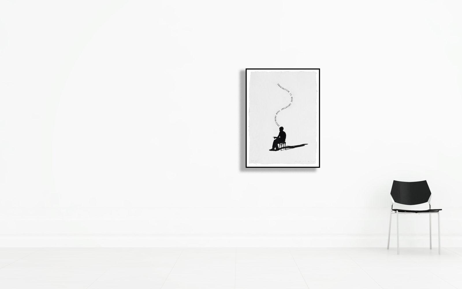 Jaume Plensa - Les silhouettes II 62 x 45 cm